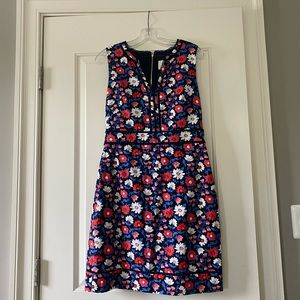 NWT Kate Spade Daisy Jacquard Dress floral size 10